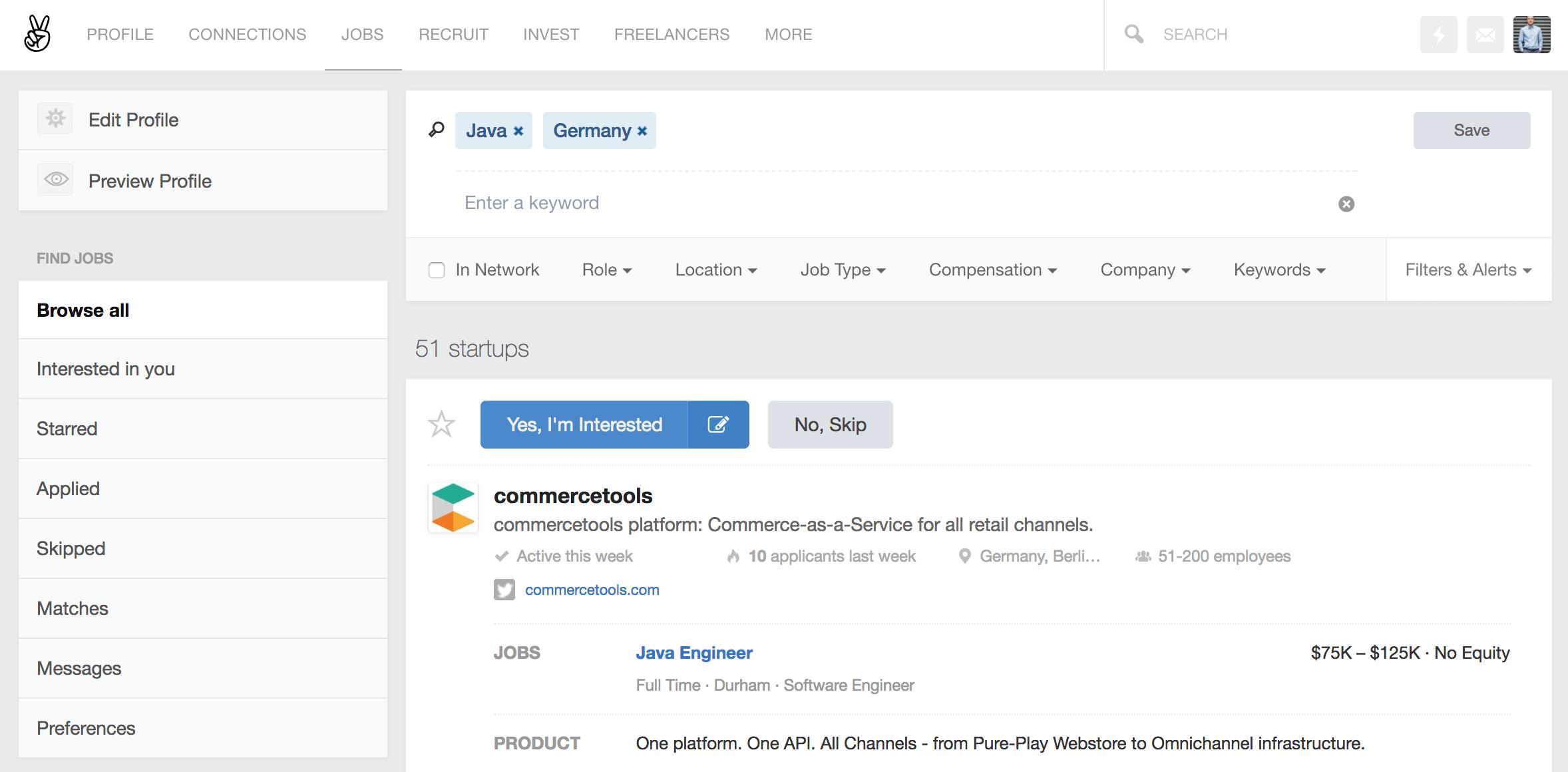 Saleslabel_Angel List по Германии