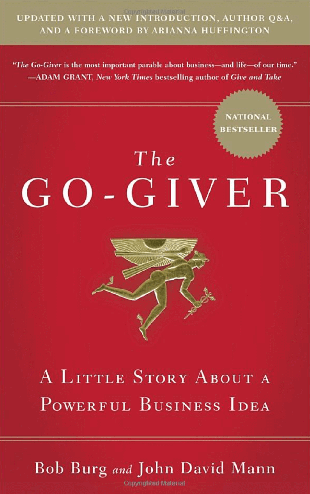 """Go-Giver, Expanded Edition: A Little Story About a Powerful Business Idea"" by Bob Burg and John David Mann_Saleslabel.com"